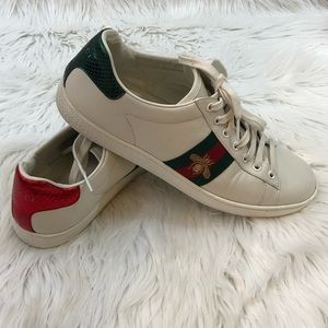 🐝Gucci New Ace Sneaker Size 40.5🐝